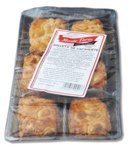 bolsa galletas de cacahuete